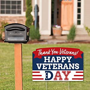 Veterans Day Yard Sign