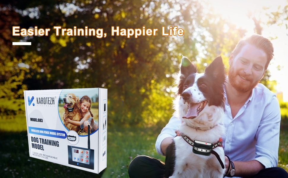 Electric Dog Fence Easier Training,Happier Life