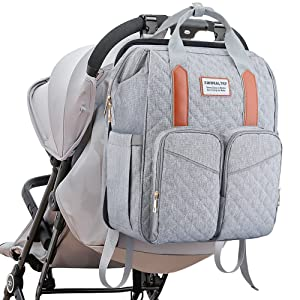 diaper bag with changing station diaper bag backpack with bed baby backpack diaper bag foldable crib
