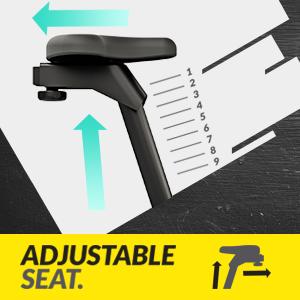 Fully Adjustable Seat