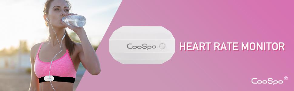 CooSpo Monitor Sensor Banda de Frecuencia Cardiaca Bluetooth 4.0 ...