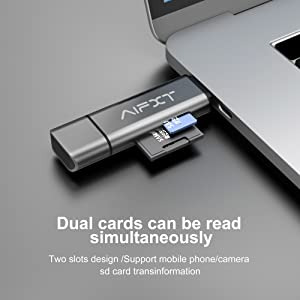 AERZETIX Flash Card adapters Flash Card Reader