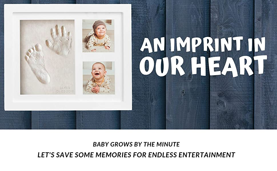 An imprint in our heart angel entertainment momento model linen item guestbook guest grandfather