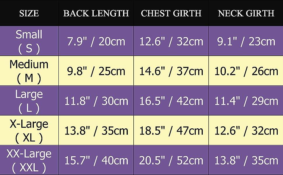 size chart 21