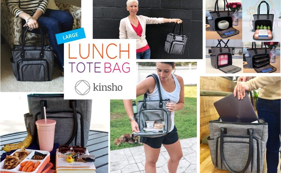 NBC 5 Lunch bag