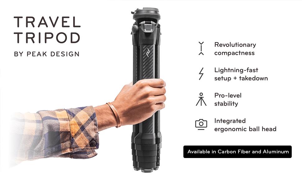 Travel Tripod by Peak Design