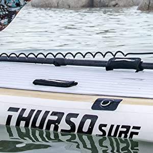 THURSO SURF stand up paddle board paddle holder