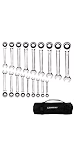 18 wrench set