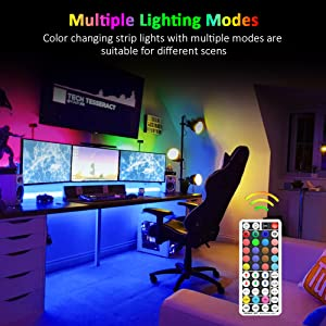 Mutiple Lighting Modes
