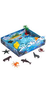 CoolSand Play Sand Sea Creatures 3D Sandbox Kit