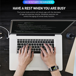 Sedentary Reminder Watch