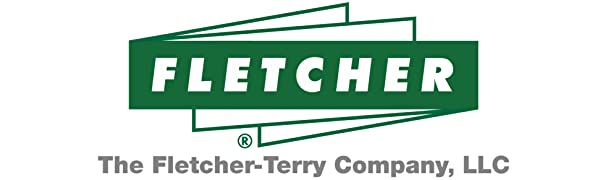 """Fletcher logo in green with text below that reads """"Material Cutting amp; Finish"""" in gray letters"""