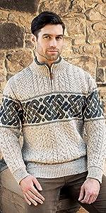 X4843 Aran Crafts, Irish Sweater