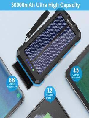 solar power bank portable charger