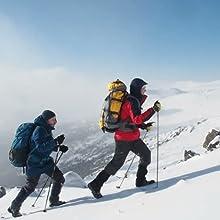 winter hiking gloves