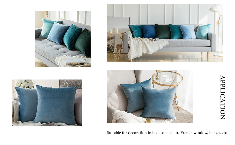 Assorted Bedroom Sofa Lounge Decorative Oblong Filled Cushion