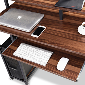 DESK WITH TRAY