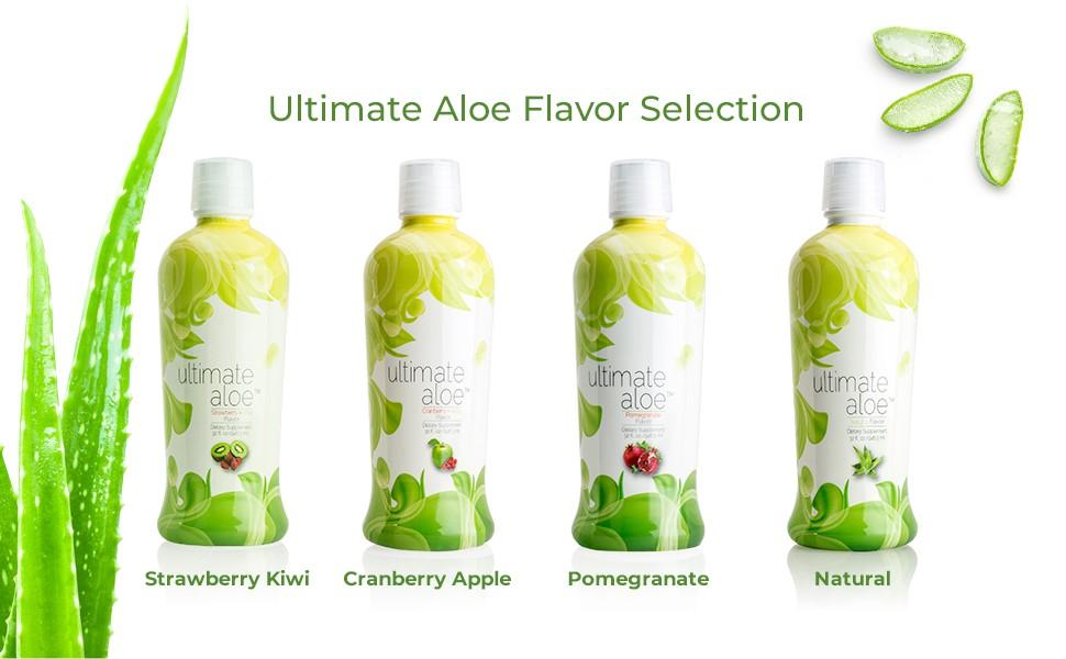 ultimate aloe vera, aloe juice, ultimate aloe juice, aloe vera juice, strawberry kiwi, pomegranate
