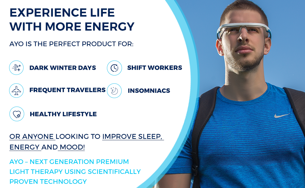 EXPERIENCE LIFE WITH MORE ENERGY!