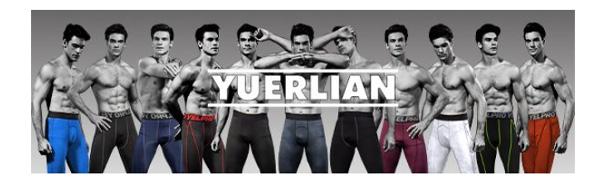 Yuerlian Mens Compression Leggings