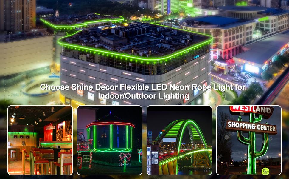 Shine Decor LED Neon Rope Light