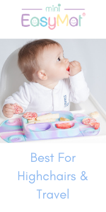 EasyMat Mini baby plate with suction