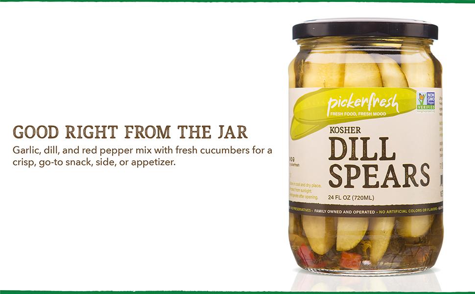 Pickerfresh Kosher Dill Spears