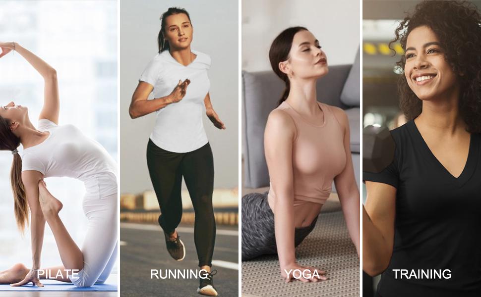TrainingGirl yoga shirts