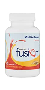 Bariatric Fusion Bariatric Multivitamin Capsule for Weight Loss Patients including gastric bypass