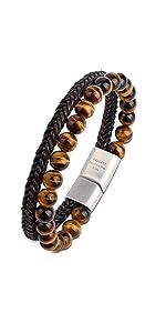 tiger_eye_leather_bracelet