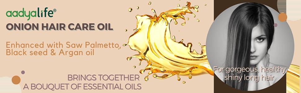 Onion Hair Care Oil for Healthy Hair