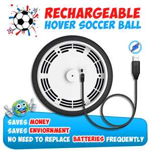 ActiveMVP Hover Soccer Ball Does Not Need External Batteries