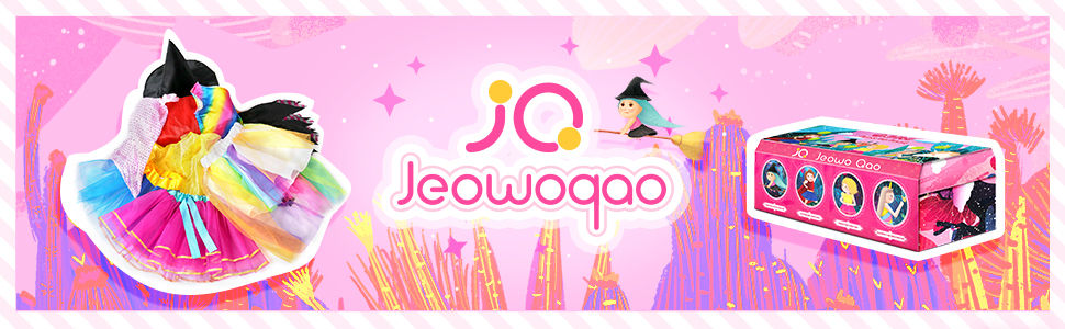 jeowoqao girls dress up set