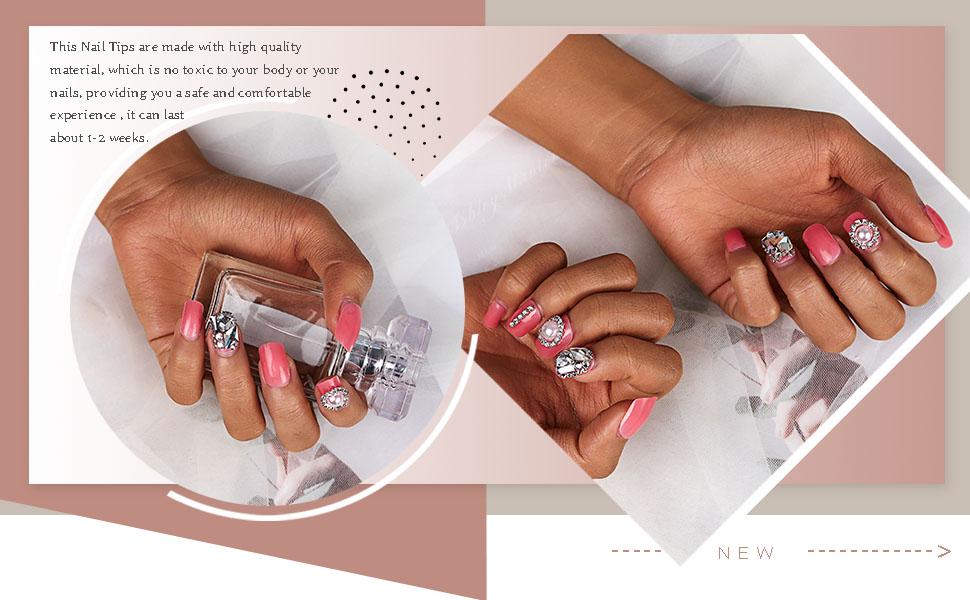 Fashion false nails