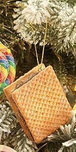 Sandwich Biscuit Ornaments