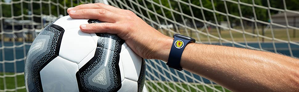 soccer flexible apple watch band iwatch strap smooth tuck
