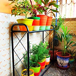 pot stands for plants in balcony plant stand for balcony ANTI RUST CORROSION RESISTANT RUST PROOF