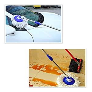 mop mopper floor cleaner with bucket for cleaning refill with wheels stick rod replacement head home