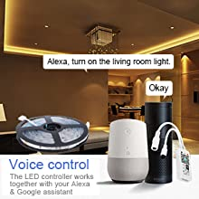 LED's app light