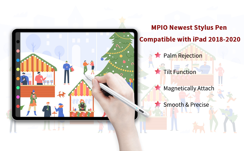 iPad Pen Compatible with iPad 2018-2020