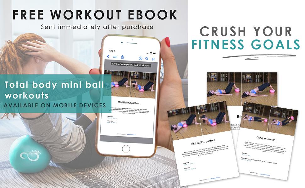 mini exercise ball