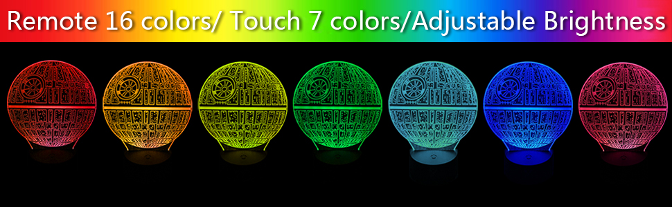 VISATOR 3D Night Light 16 Colors