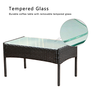 Tempered safety glass