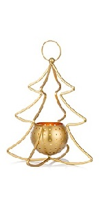 gold candle holder for tea light