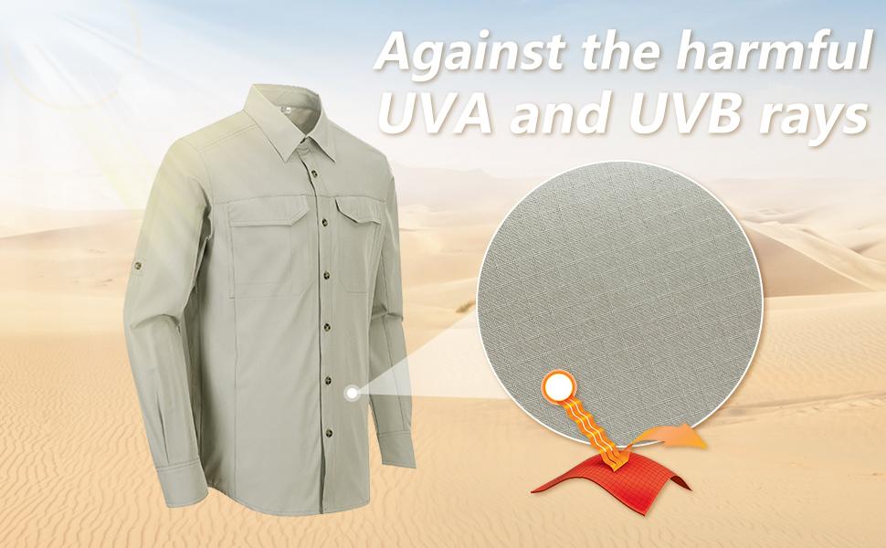 uv protection shirt sun protection shirt for men sun proof spf 50+ shirt