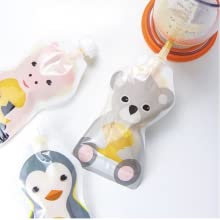 Squooshi filling station and baby food squeeze pouch baby food pouch maker