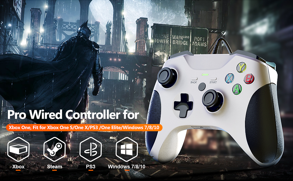 XBOX one controller  wired