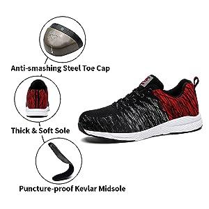 steel shoes for men