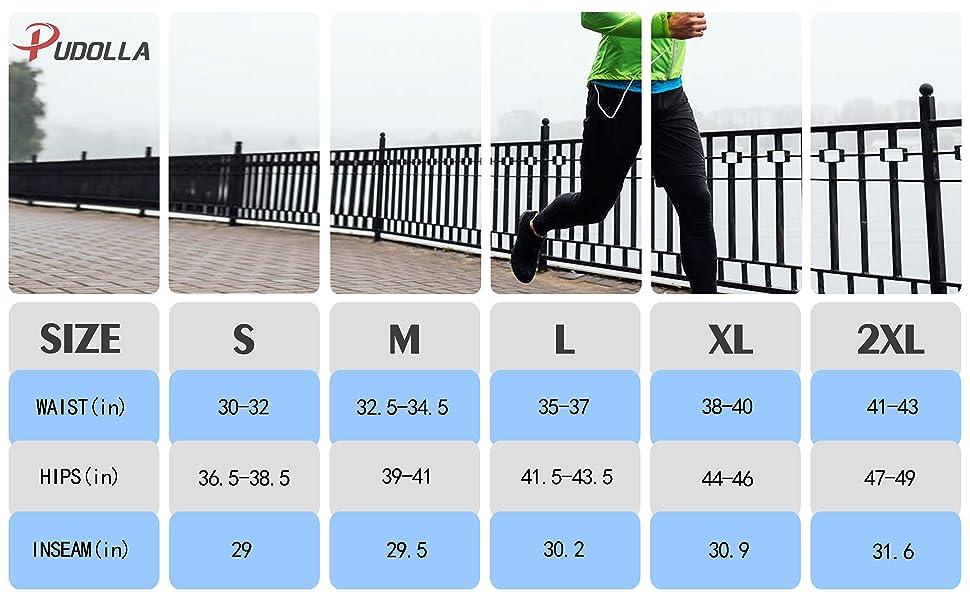mens workout running pants