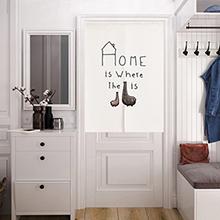 日本製 目隠し パーテーション 洋室 洋間 間仕切り 壁飾り 仕切り 玄関 洗濯可能 北欧